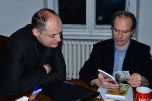 Alexander Romanowskij, Sergej Popow. Foto: Vera Zinser
