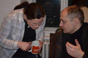 Susann Weien, Alexander Romanowskij Foto: Vera Zinser