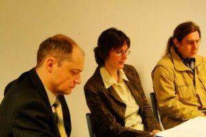 Alexander Romanowskij, Annette Merbach, Anatolij Grinwald Foto: Swetlana Voljskaya