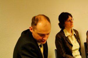 Alexander Romanowskij, Annette Merbach Foto: Swetlana Voljskaya