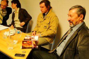 Alexander Romanowskij, Annette Merbach, Anatolij Grinwald, Wjatscheslaw Kuprianow. Foto: Swetlana Voljskaya