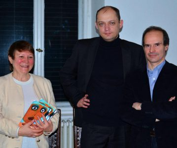 Lesung mit S. Popow, N. Seredina und A. Romanowskij am 13.03.2012