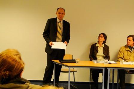"""Lesung """"Neue russische Poesie und Dramatik"""" am 16.03.2012"""