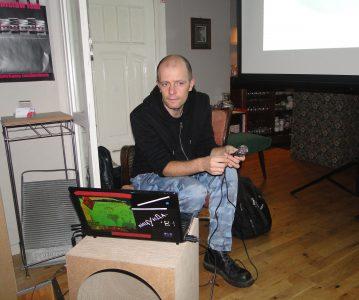 Musikalische Lesung mit Konstanty Usenko am 07.12.2012