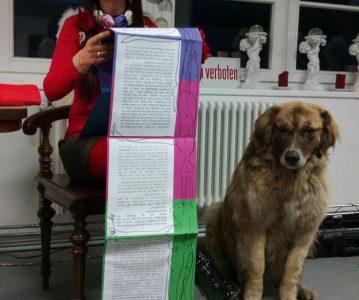 Poetische Performance mit Marina Lioubaskina am 30.04.2013